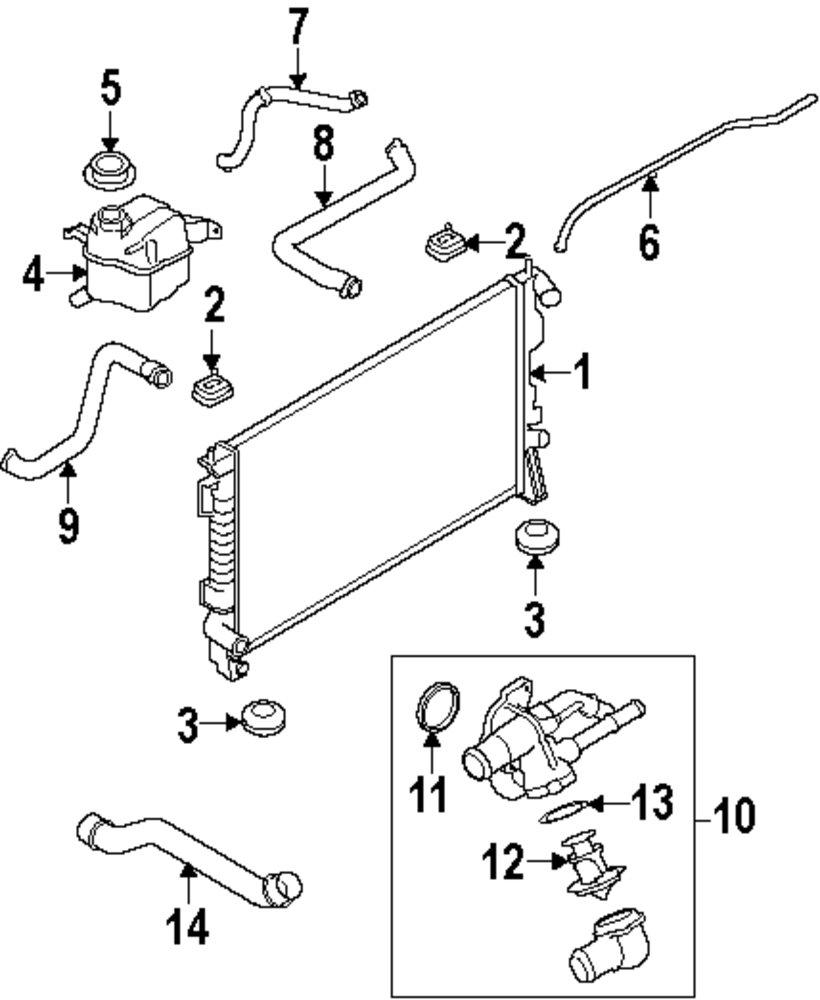 Mopar Direct Parts Dodge Chrysler Jeep Ram Wholesale Retail Subaru Cooling System Diagram Genuine Mercury Thermostat Mrc 1x4z8575a
