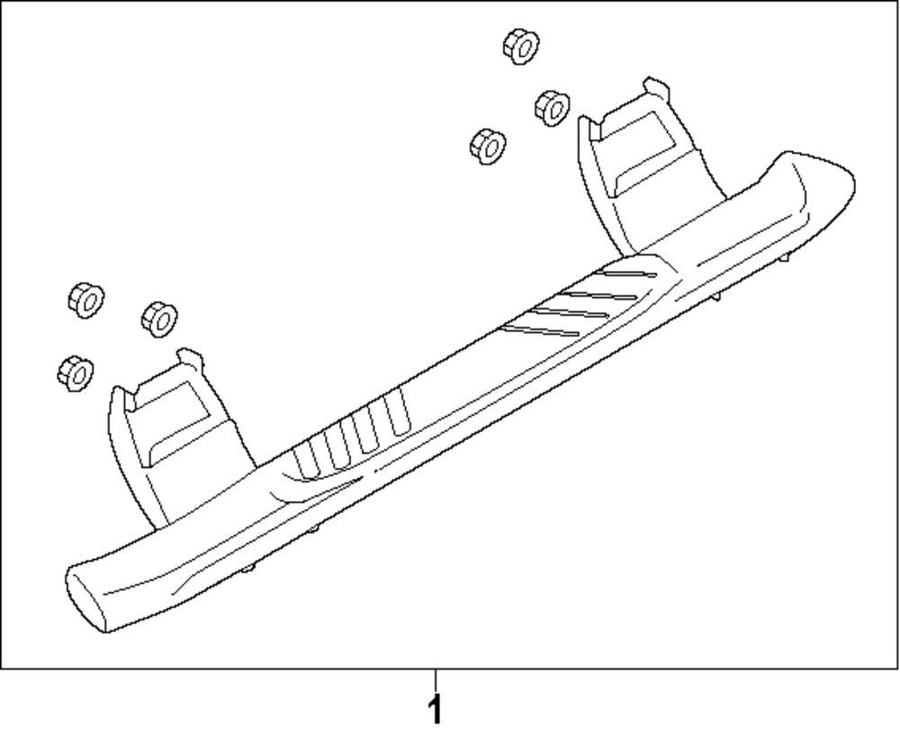 ford f running board diagram