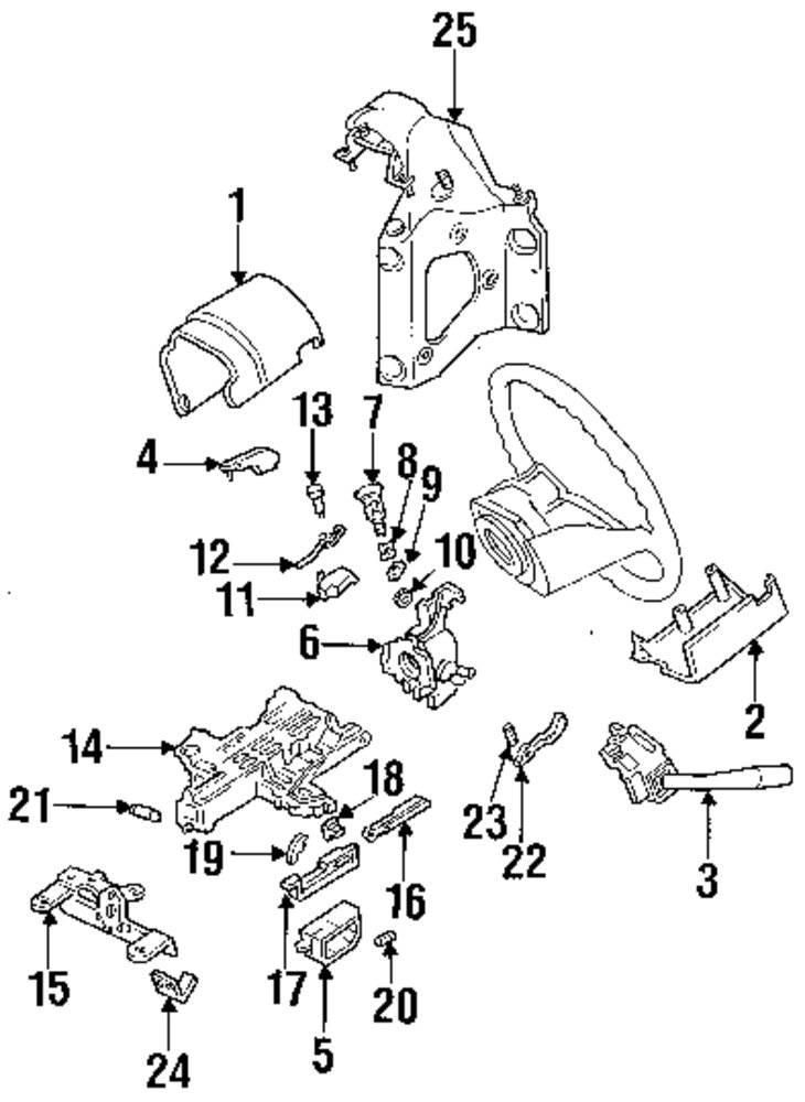 1994 ford f 150 exhaust system diagram
