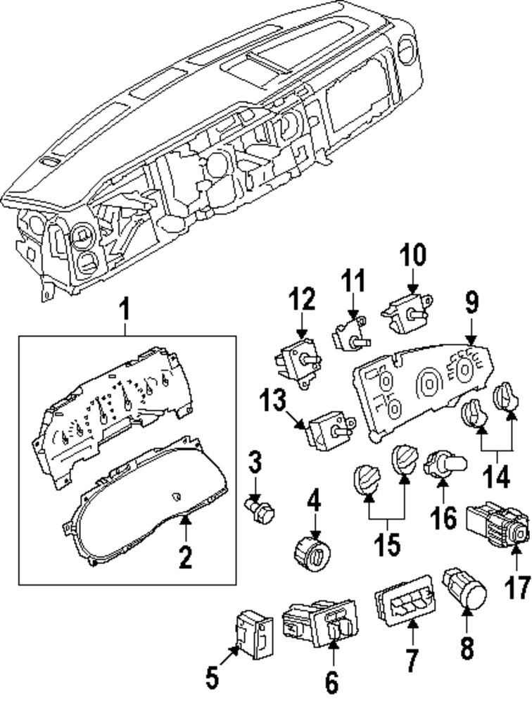 Ford Heater Switch