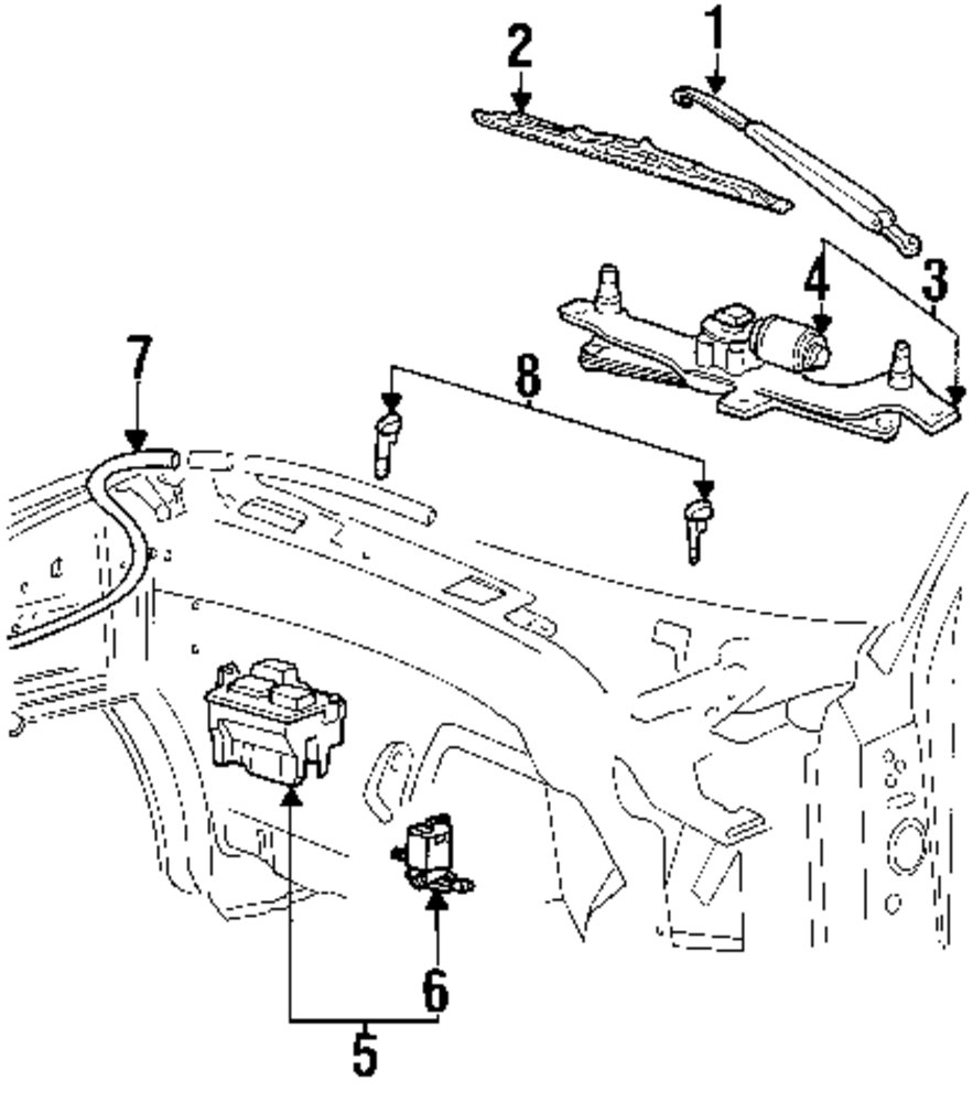 adsit pany mercedes benz parts Ford Wiper Motor Diagram genuine ford washer nozzle for dp5z17603a