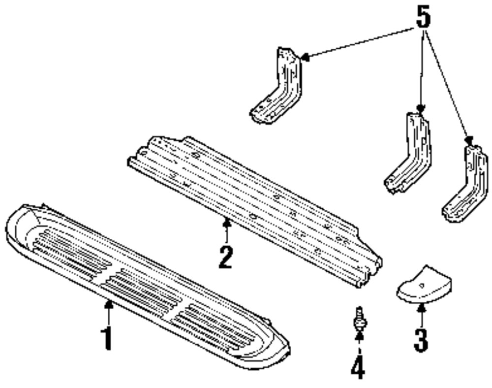 Mopar Direct Parts Dodge Chrysler Jeep Ram Wholesale Retail Skateboard Diagram Reinforcement Filler