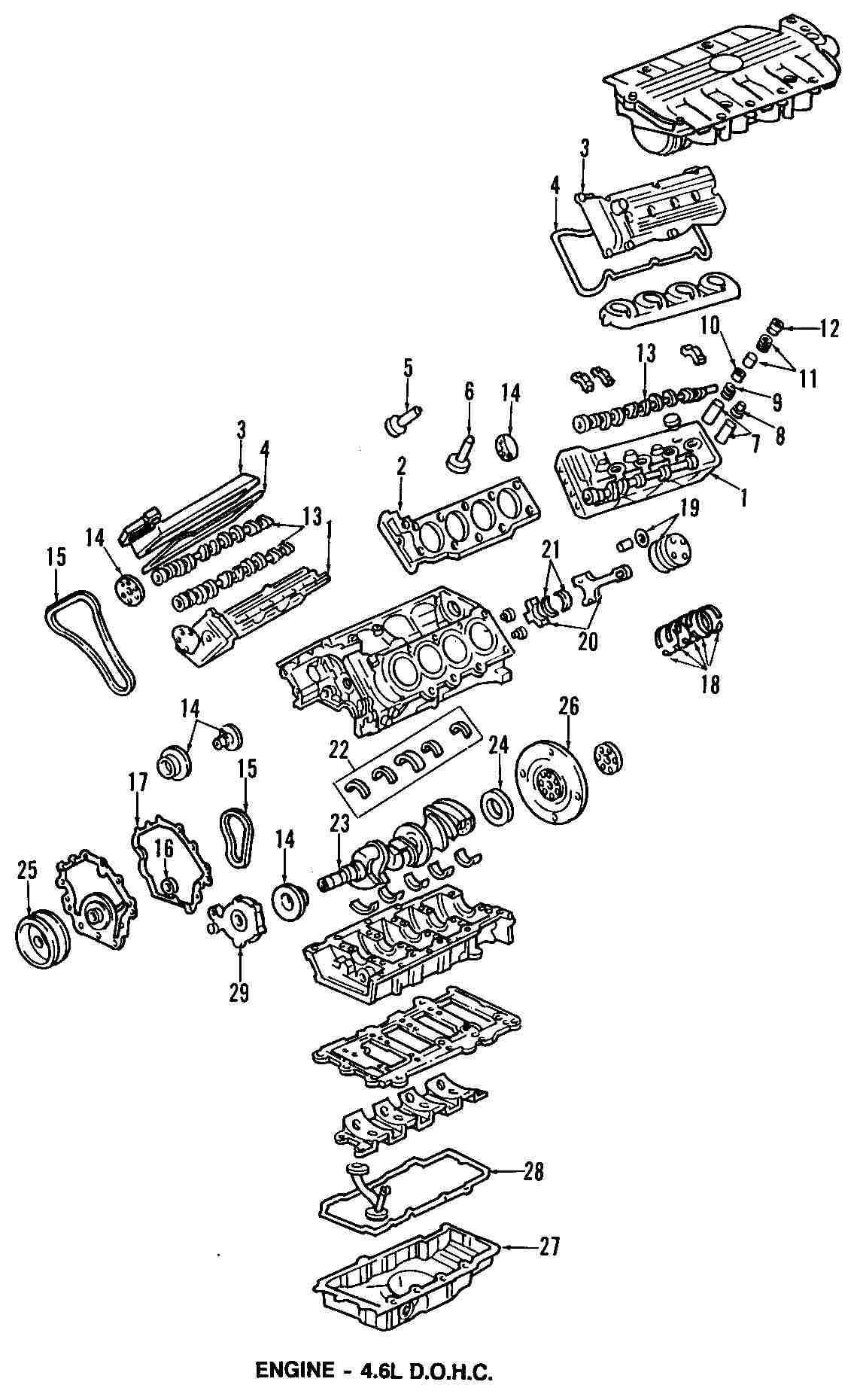 1998 cadillac deville front bumper parts