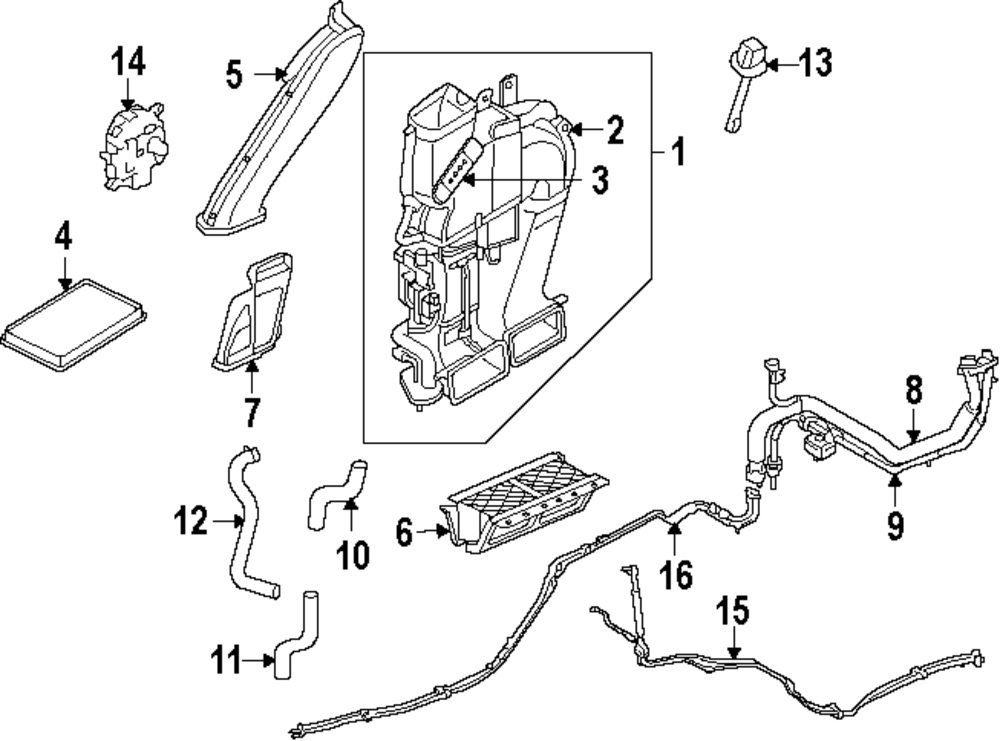 Hvac Parts For Ford