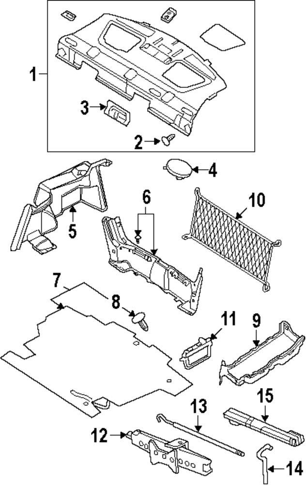 mopar direct parts dodge chrysler jeep ram wholesale retail parts Saab 97 X genuine mercury partment l mrc 6e5z13a756aa