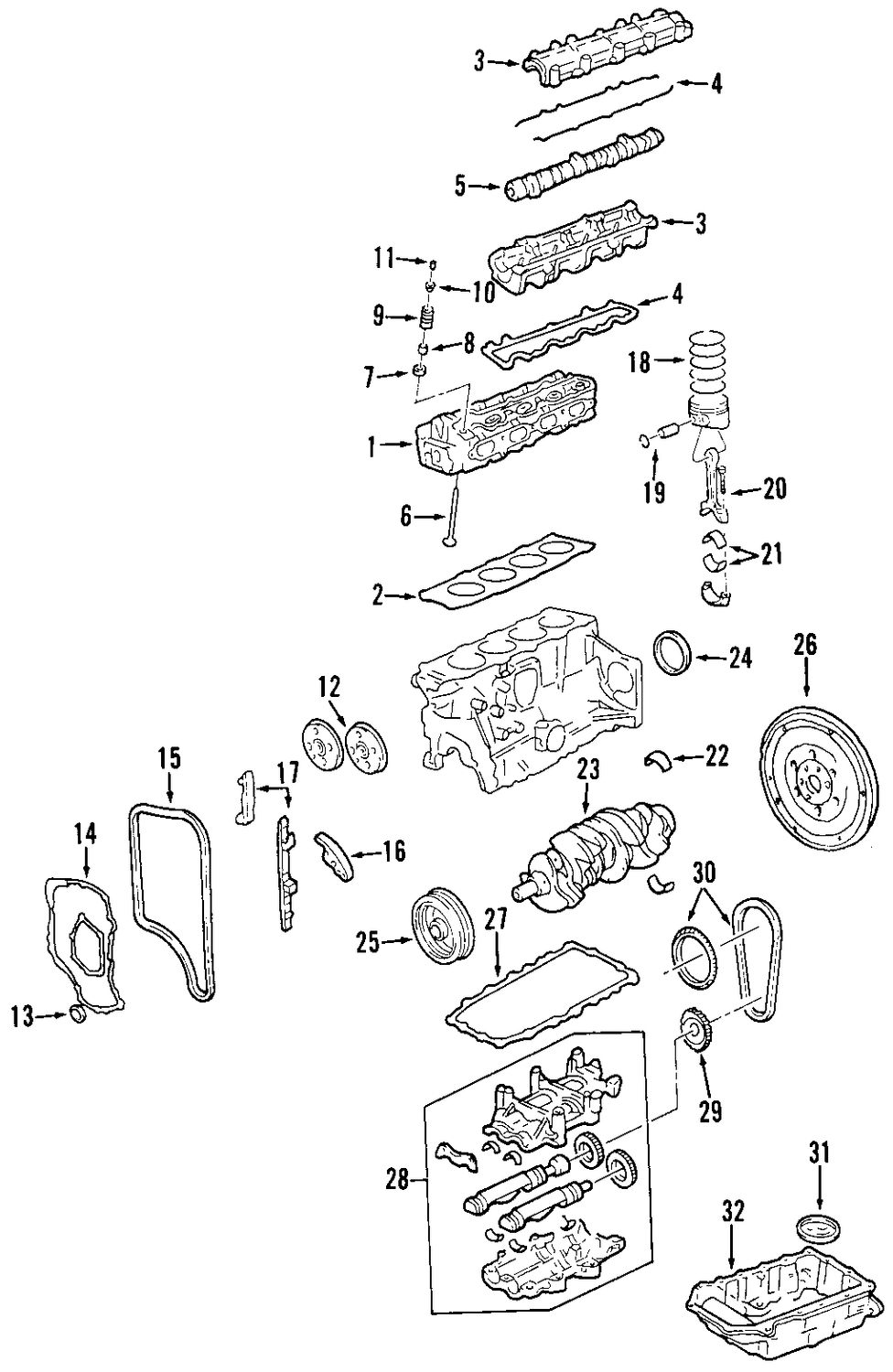 Browse A Sub Category To Buy Parts From Alero Engine Diagram Genuine Chevrolet Vibration Damper Che 24575562