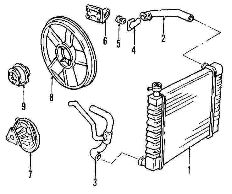 cooling system parts for pontiac pontiac sunfire serpentine belt diagram genuine pontiac water pump pon 24577255