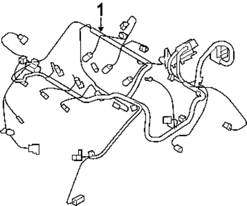 Browse A Sub Category To Buy Parts From Chrysler Crossfire Wiring Harness Genuine Engine Chr 68057994ab