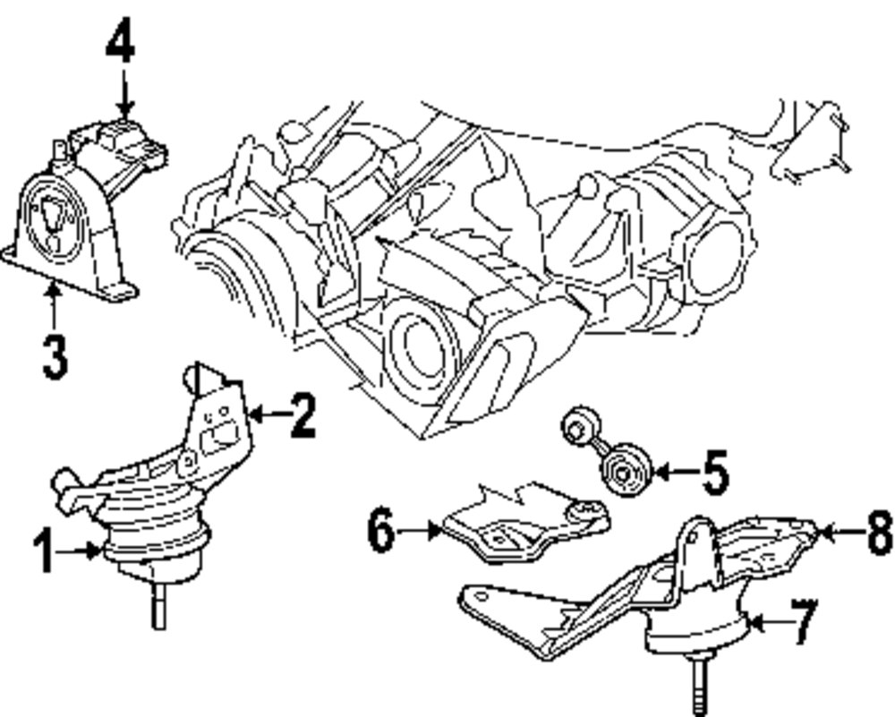 2005 Chrysler Town And Country Engine Mounts on 2007 chrysler town and country fuse box diagram