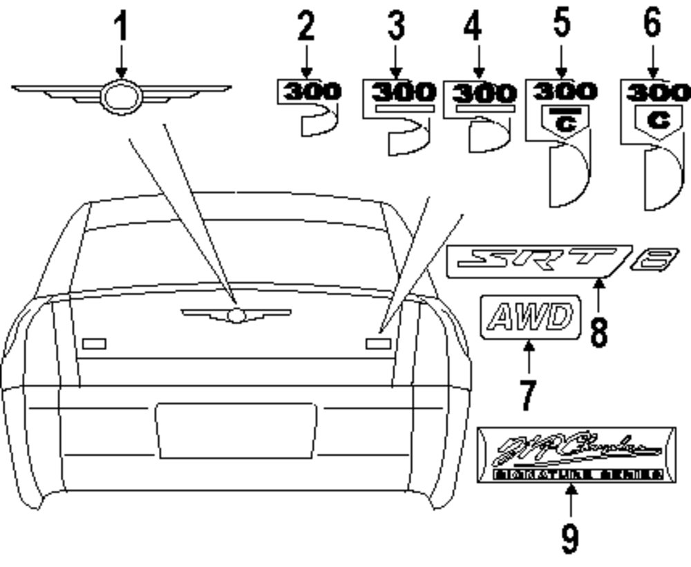 service manual  diagram of how a 2008 chrysler 300