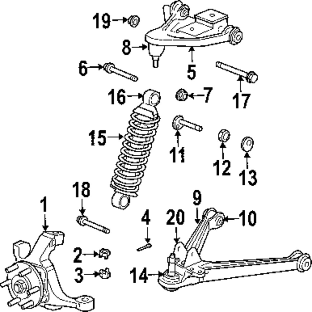 Dodge Durango Front Suspension Diagram on 2002 intrepid rear suspension diagram