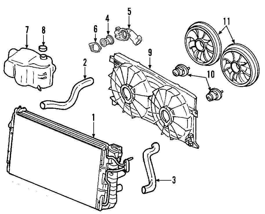 2003 Bmw 325i Cooling System Parts Diagram Not Lossing Wiring 2001 Engine Component For Pontiac Rh 100628 1440 Nexpartb2c Com X5