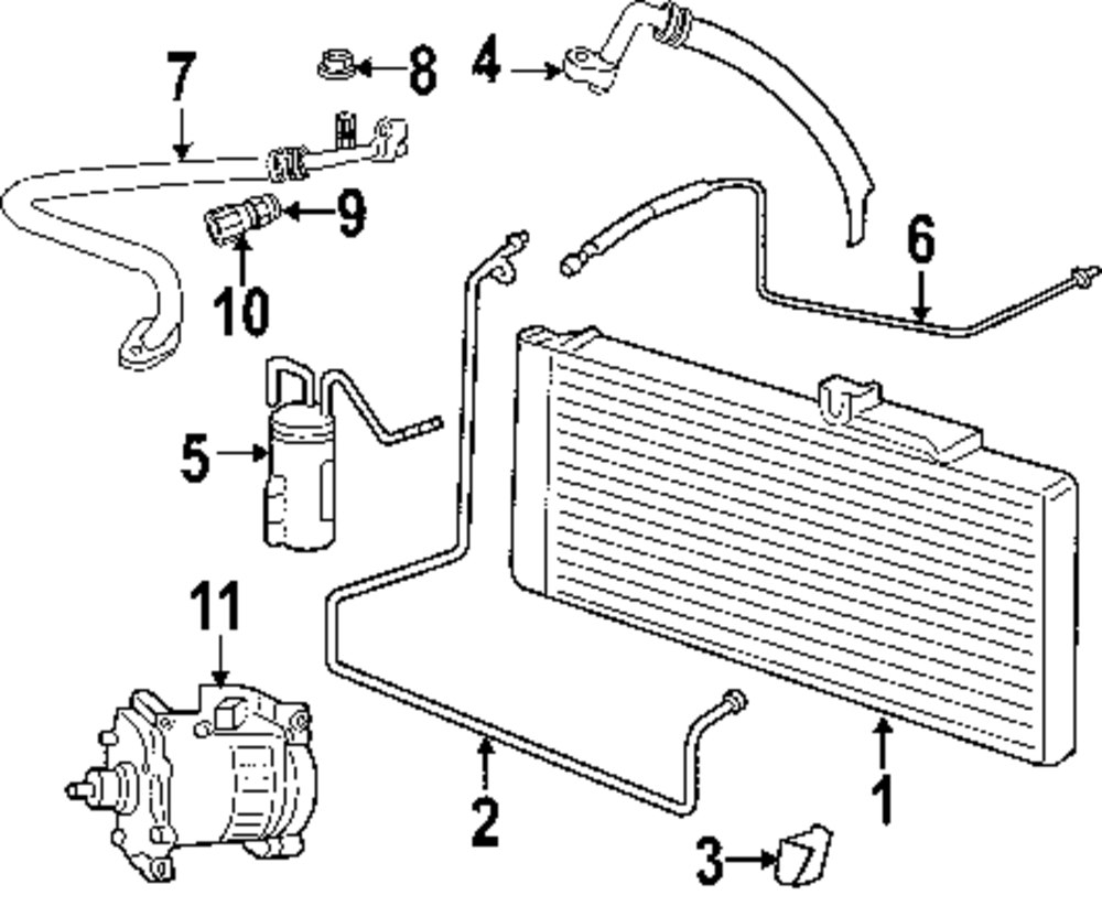 2006 Mazda 6 Air Conditioner And Heater Parts Engine Diagram Genuine Dodge Cover Nut Dod 6101445