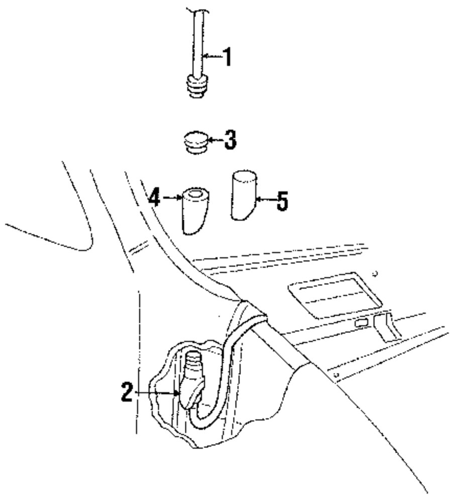 Buy Electrical Antenna Parts For Avenger Dodge Ram 3500 Van Vehicle Wiring Diagram Genuine Cable Seal Dod 56006990ab