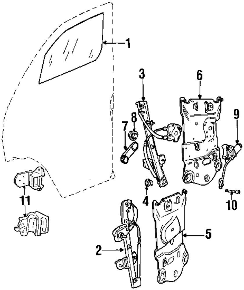 mopar direct parts dodge chrysler jeep ram wholesale retail parts Dodge Dart genuine dodge window handle spacer dod 2950491