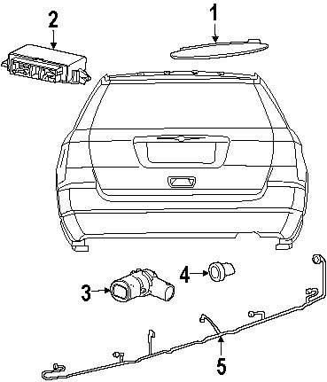 Chrysler Automotive Wiring Harness Mopar Direct Parts Dodge Jeep Ram Wholesale Retail Genuine Ring Chr 4806474aa