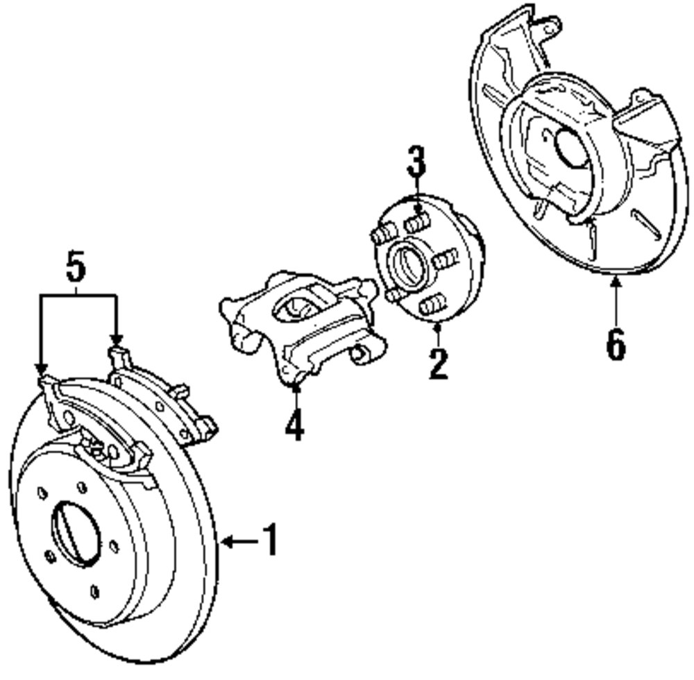 Volvo 240 Rear Suspension Diagram Corvair Parts Ac For To Reverse Motor Wiring 850 Shock Buy