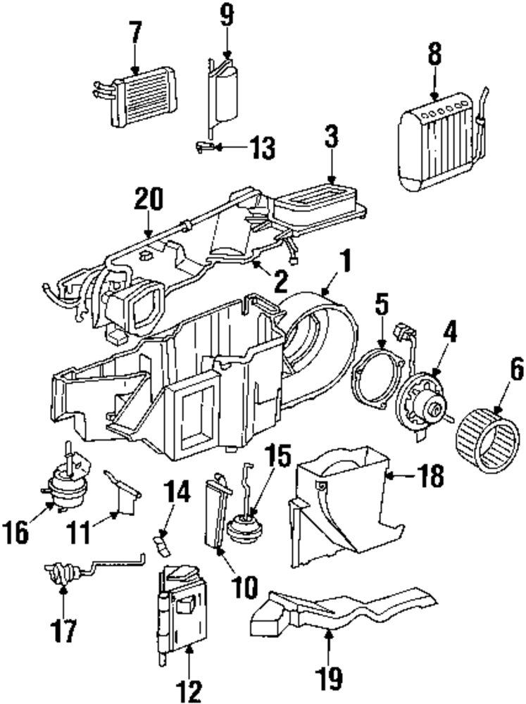 2000 dodge durango air conditioning vac diagram  2000