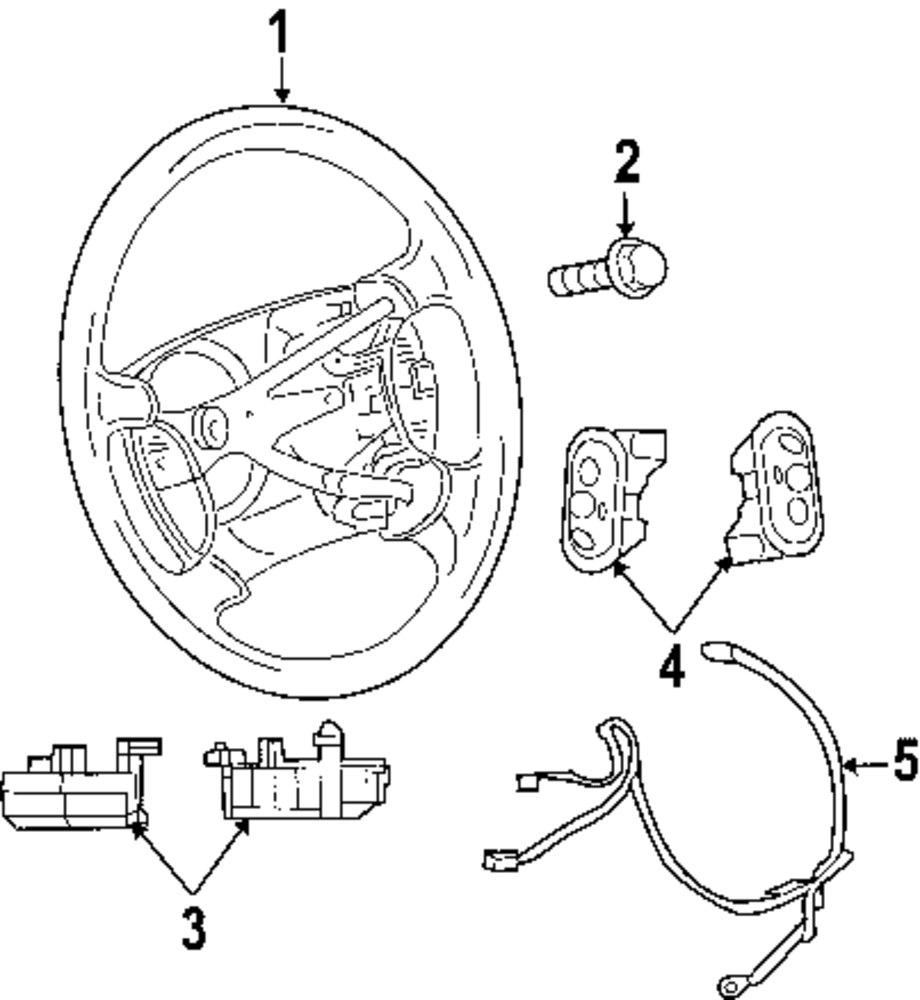 mopar direct parts dodge chrysler jeep ram wholesale retail parts Trailer Wire Harness genuine chrysler steering wheel chr 1gk181d1aa
