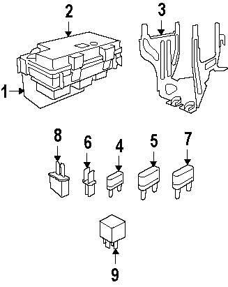 dodge ram 2500 fuse box wiring diagram  dodge  free engine
