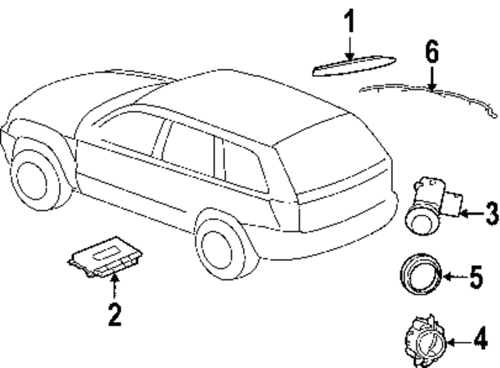 mopar direct parts dodge chrysler jeep ram wholesale retail parts Wire Harness Sink wire harness