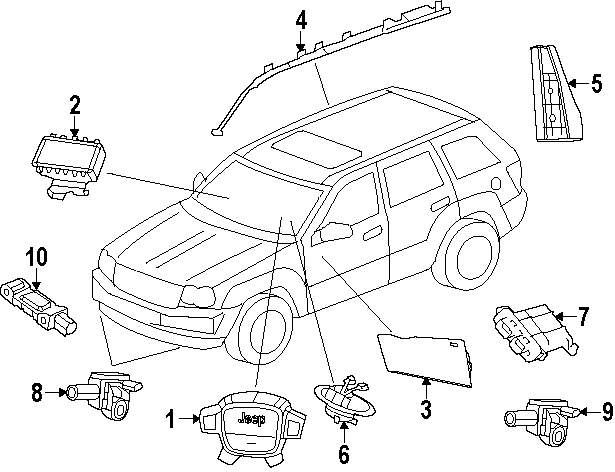 Buy Electrical Parts For Jeep Vehicle Mopardirectpartscom 100259