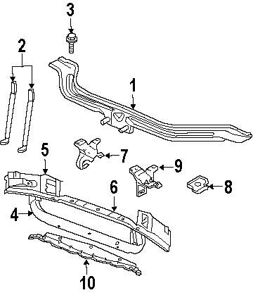 buy radiator support parts for 2003 jeep vehicle