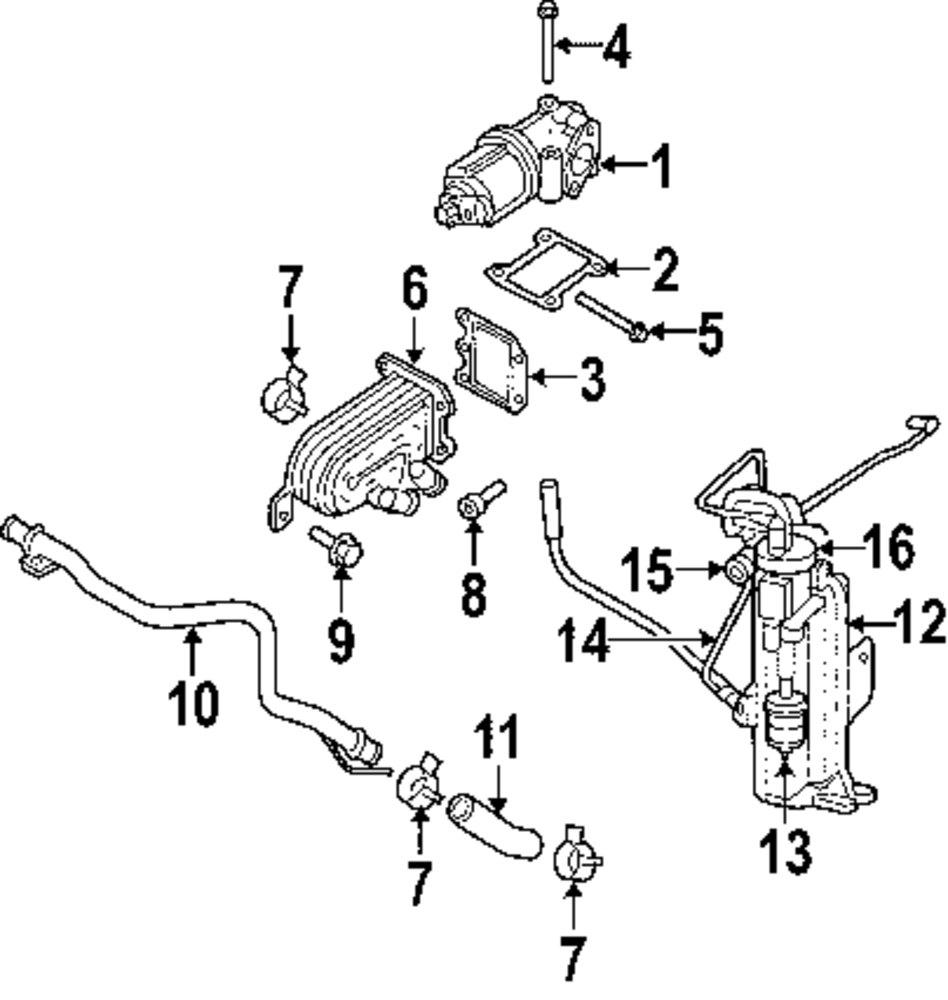 Mopar Direct Parts Dodge Chrysler Jeep Ram Wholesale Retail Emissions Diagram Genuine Vacuum Reservoir Jee 52129285aa