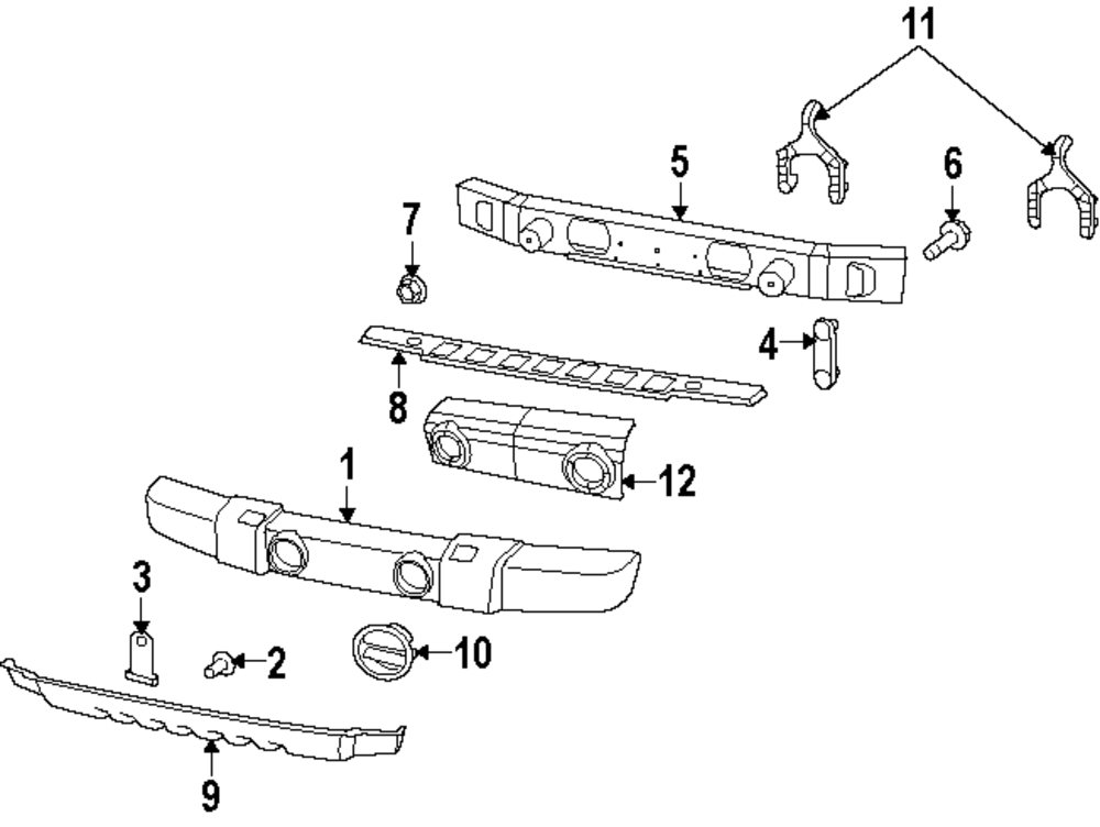 2008 chrysler sebring bumper and components parts. Cars Review. Best American Auto & Cars Review