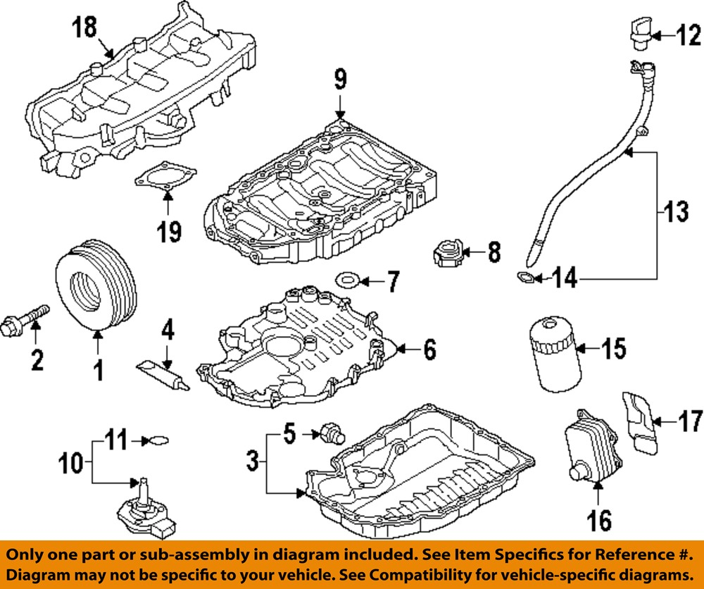 AUDI OEM 13-16 A5 Quattro Engine Parts-Drain Plug