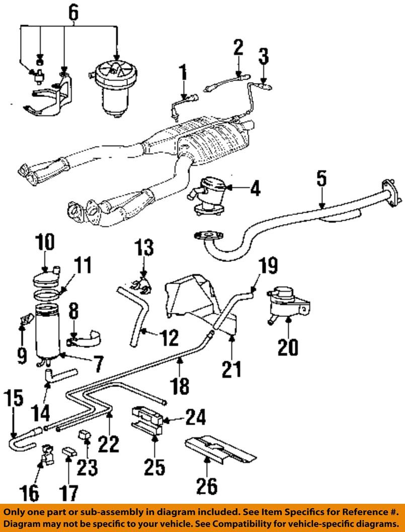 Bmw Oem 96 97 850ci 54l V12 Emisin Inferior Manguera 13311711004 Engine Diagram Emission Lower Hose