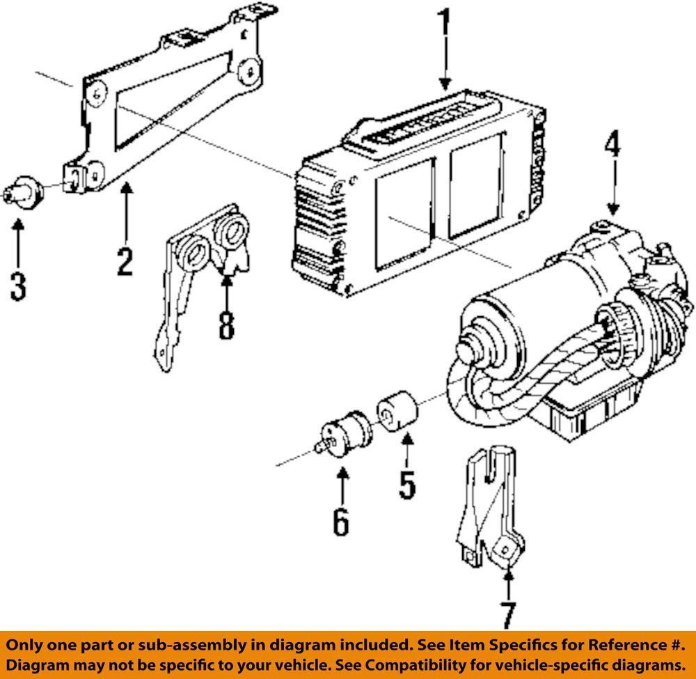 Bmw Oem 96 00 Z3 Abs Pump Amp Motor Assy 34511164333 Ebay