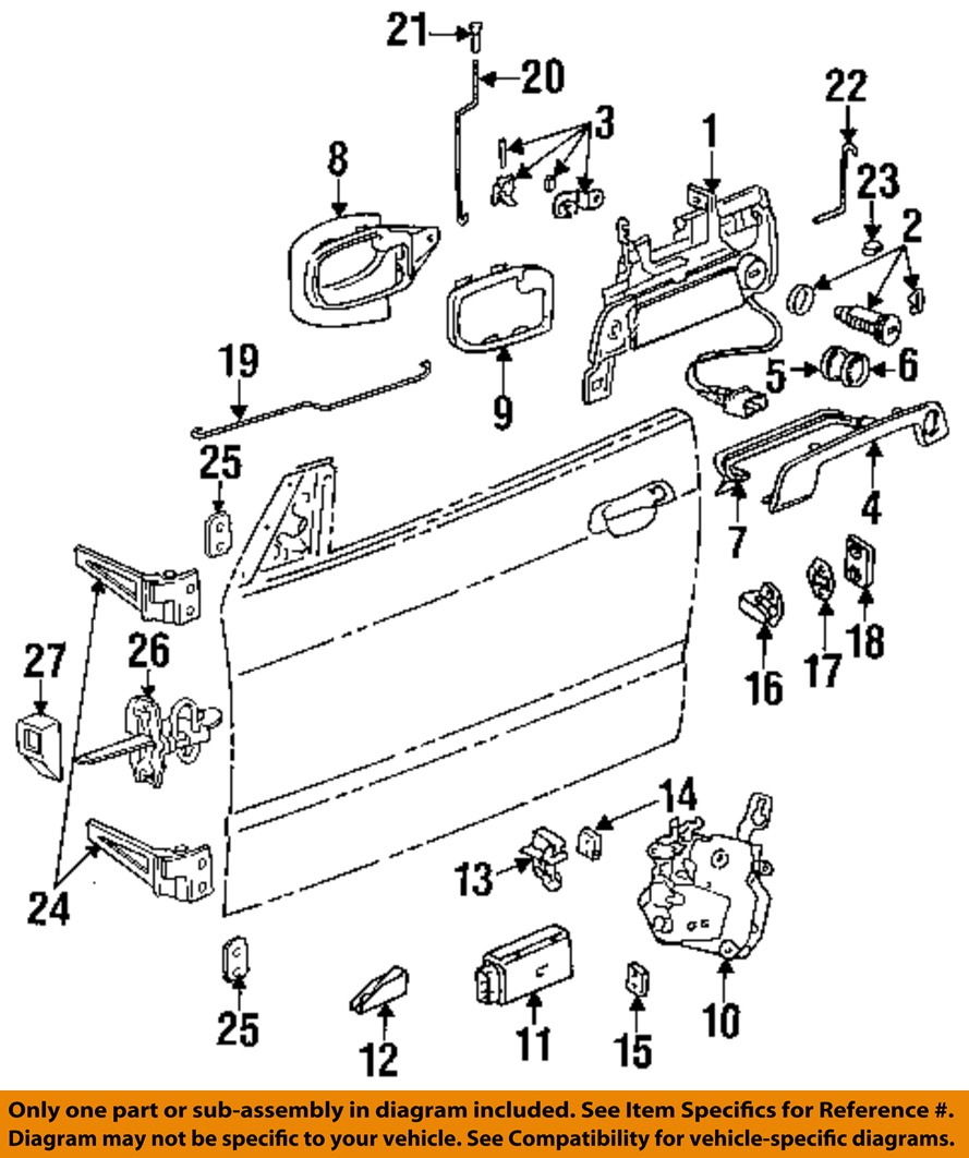 Bmw Z3 Oem Parts: BMW OEM 96-02 Z3 Door-Lock Cylinder Gasket 51211928380