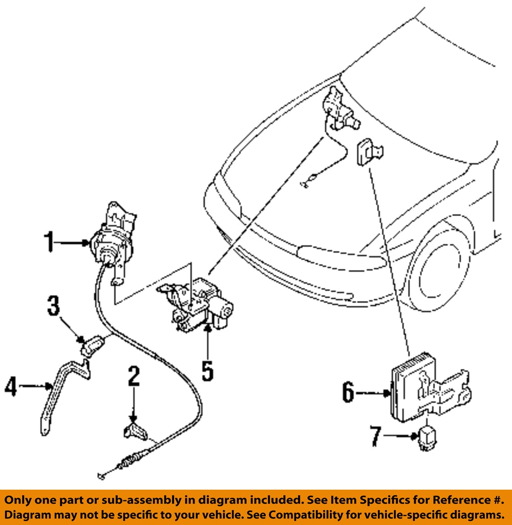 Purchase Nissan Oem 95 96 240sx Cruise Control Actuator 1891070f00 Diagram