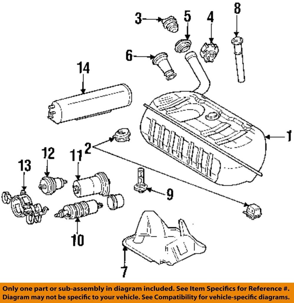 mercedes oem 03 08 sl55 amg fuel filter 0024772701 ebay