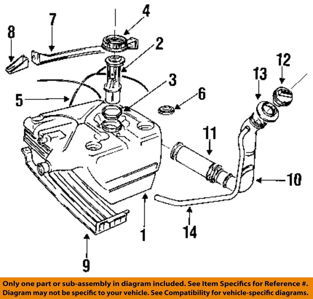 land rover oem 91 95 range rover 3 9l v8 fuel tank breather grommet ntc5879 ebay