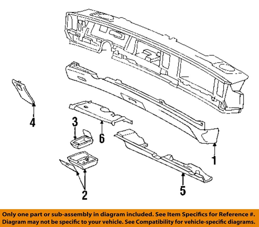 96 buick lesabre fuse diagram buick gm oem 94-96 lesabre instrument panel dash-fuse box ...