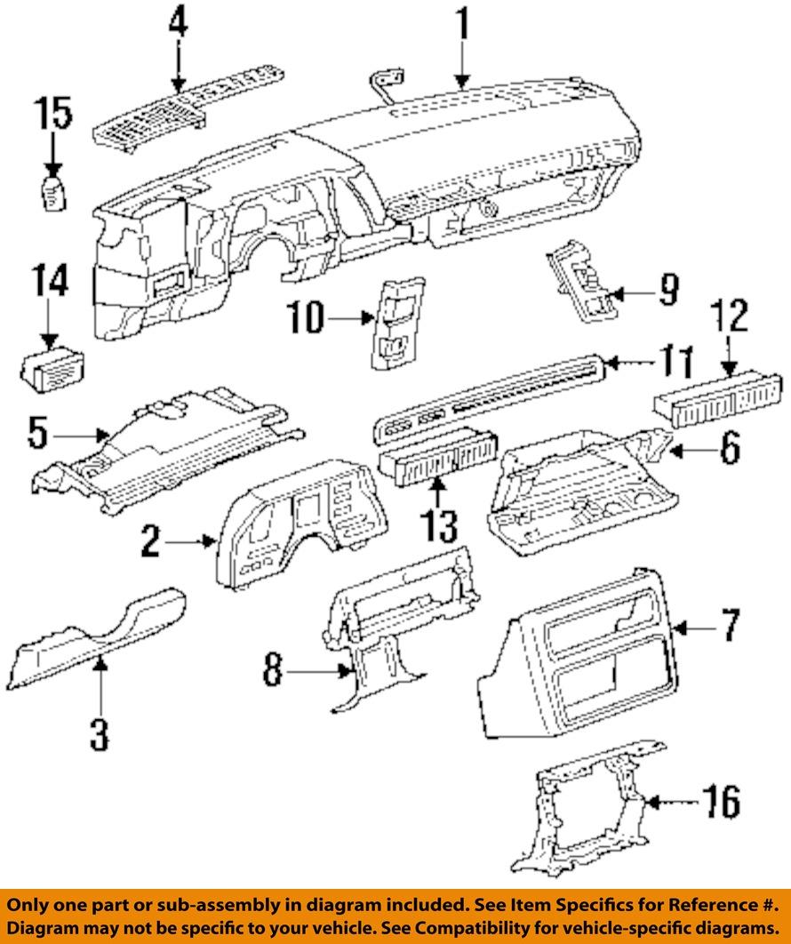 Chevrolet Gm Oem 88