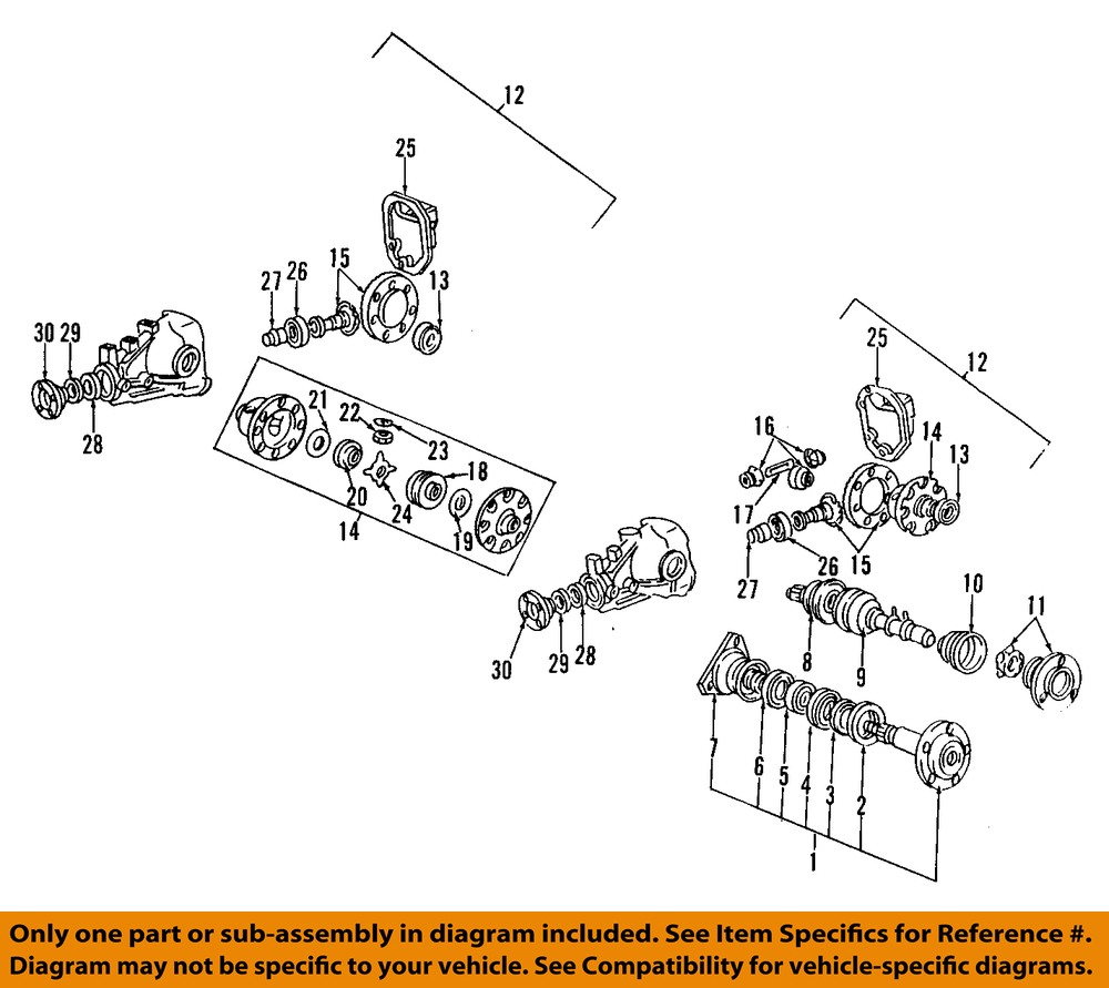 Genuine Oem Rear Suspension Mounting Parts For 1990 Toyota: MITSUBISHI OEM 91-99 3000GT Rear Axle-Dust Shield MB290428