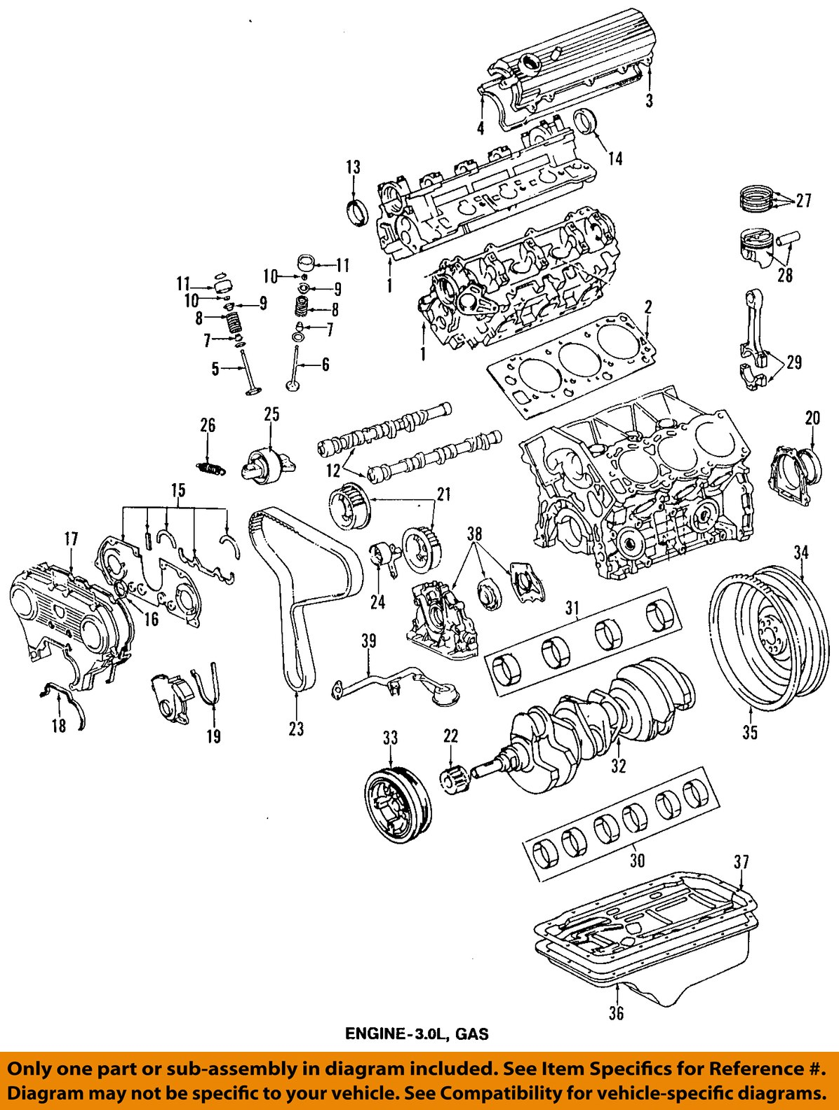 Toyota Engine Oil Diagram Wiring Diagrams 93 Camry Parts Oem 98 T100 Pan 1210165012 Ebay