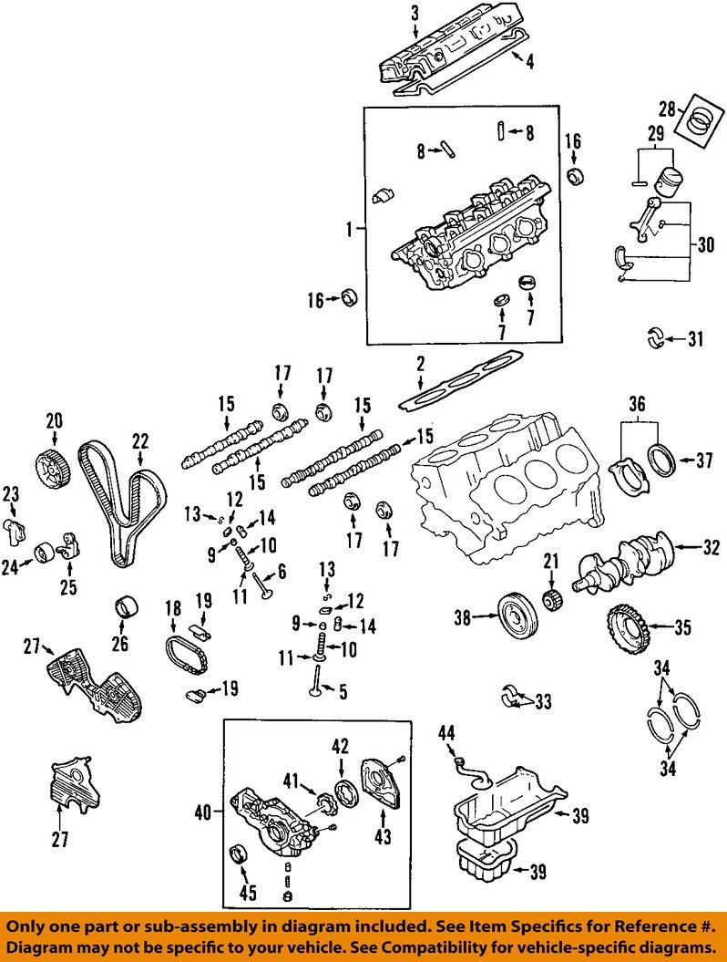 hyundai oem 99 05 sonata engine timing belt 2431237500 ebay