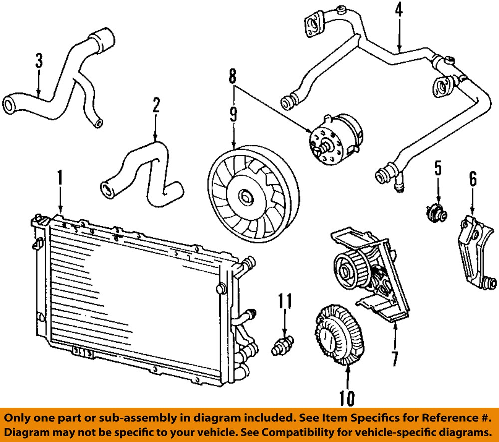 Of Of 2001 Audi A4 Cooling System Schematic: AUDI OEM 02-06 A4 Quattro-Engine Coolant Thermostat