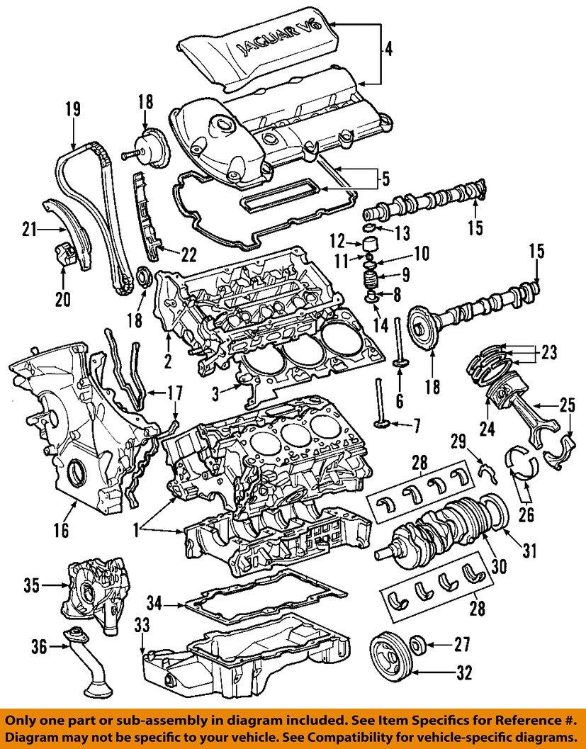 jaguar oem 02 08 s type engine cylinder head gasket c2s34512. Black Bedroom Furniture Sets. Home Design Ideas