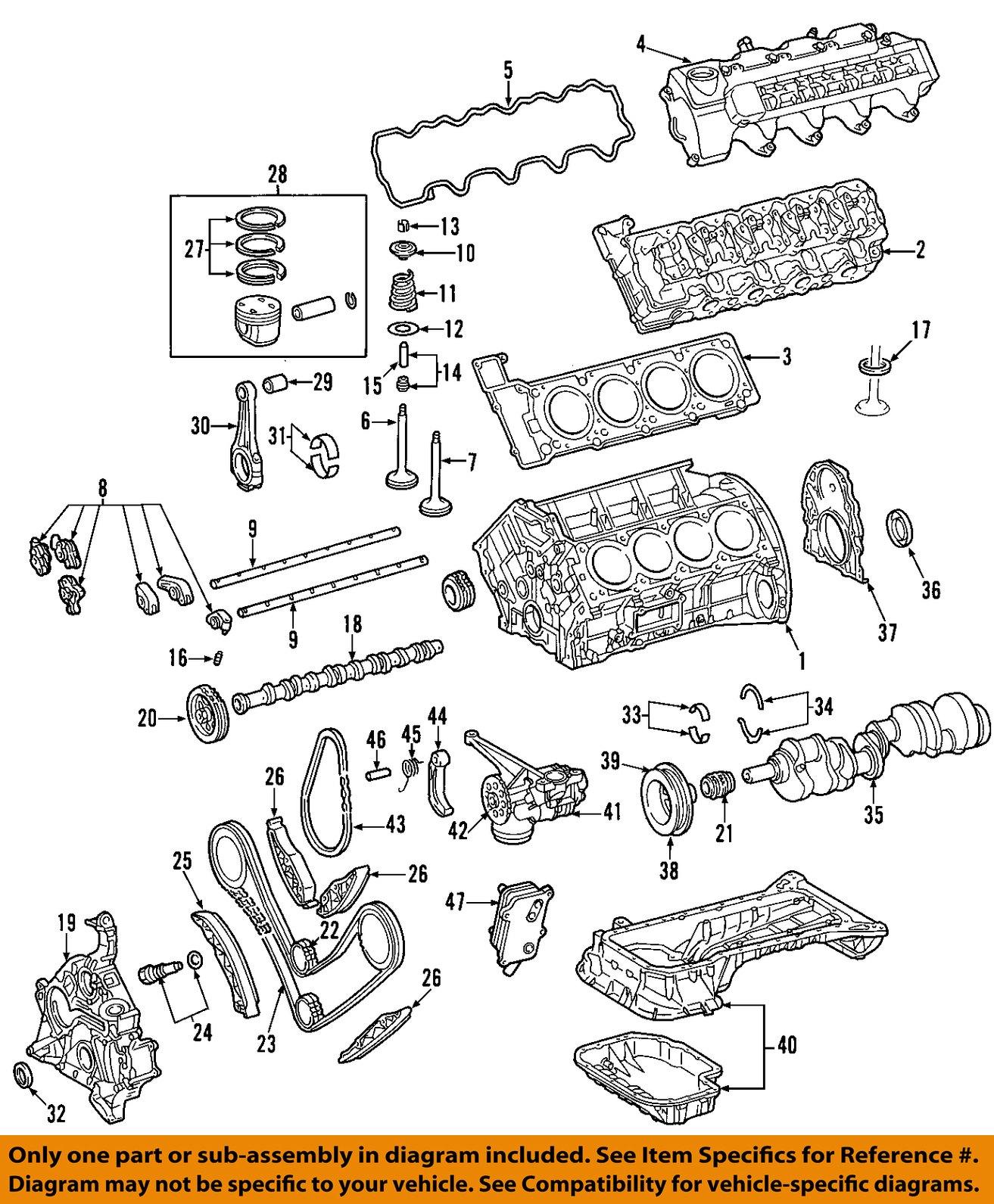 mercedes oem 00 06 s500 engine oil pump 1131800101 mercedes oem 00 06 s500 engine oil pump 1131800101