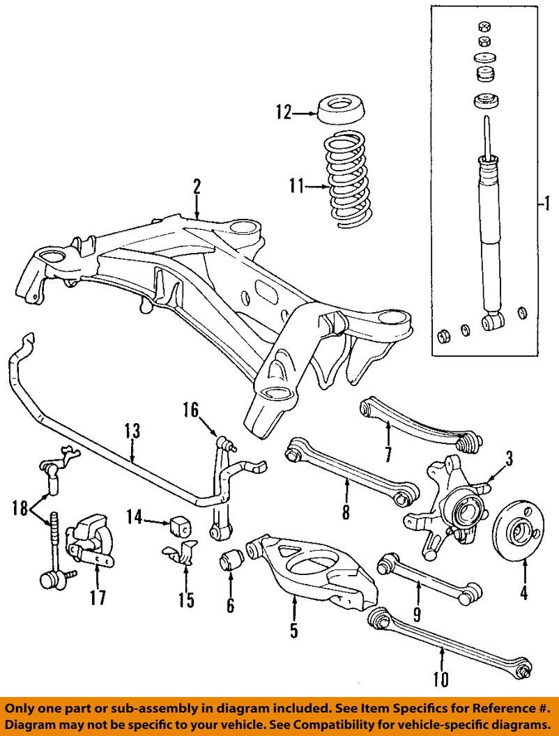 Mercedes mercedes benz oem c320 stabilizer sway bar rear for Mercedes benz c320 parts