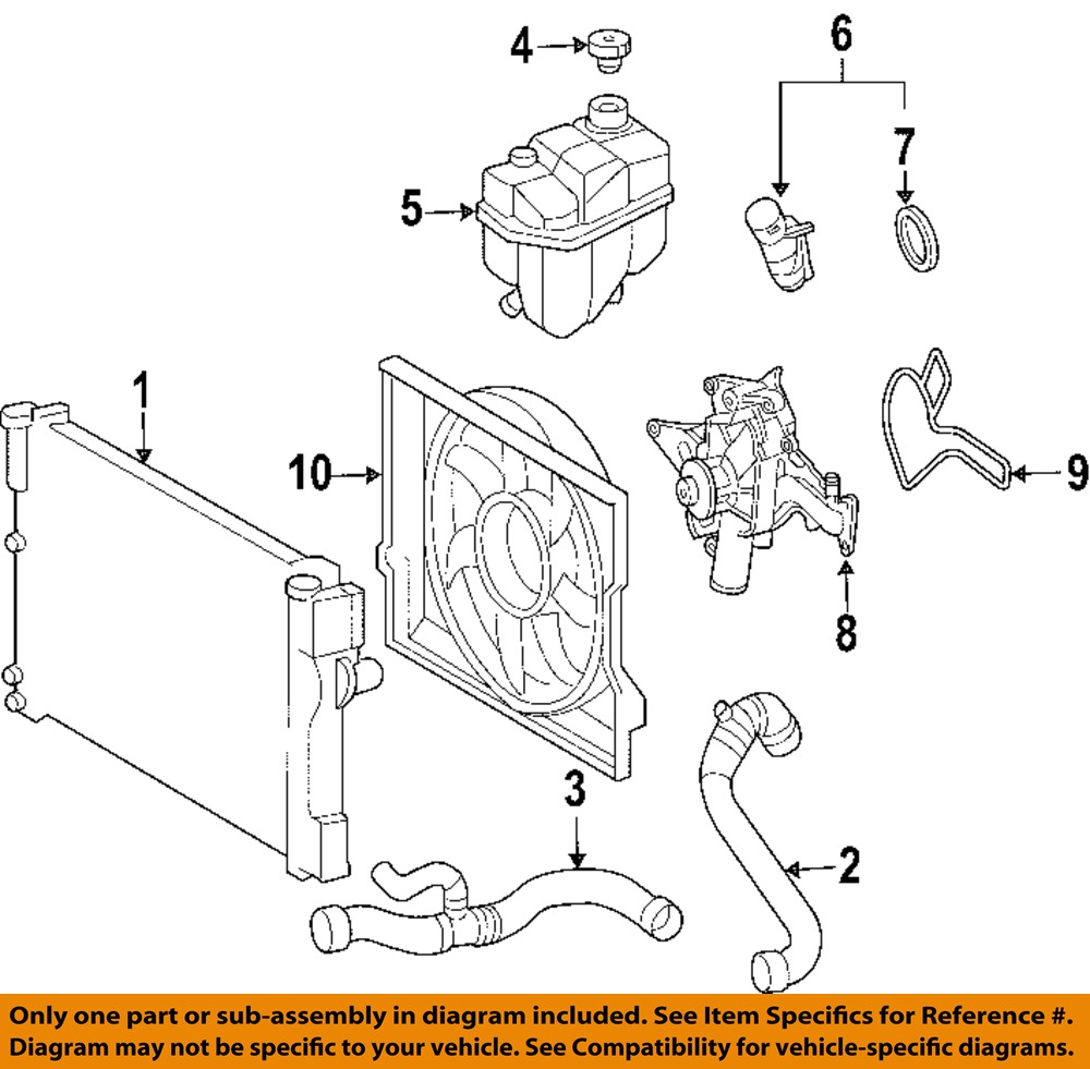 mercedes mercedes benz oem e radiator cooling fan blade mercedes mercedes benz oem 03 05 e320 radiator cooling fan blade 2115001693