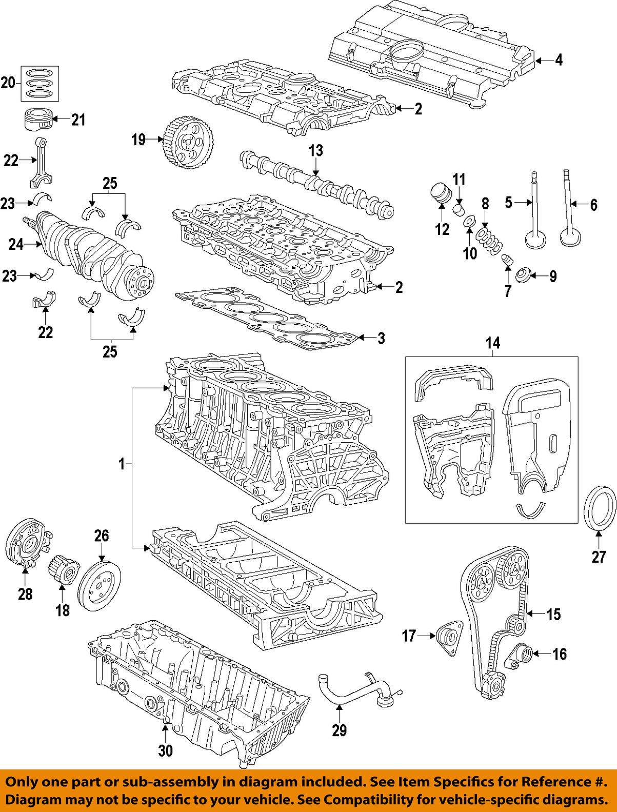 Volvo Oem 8590 740engine Crankshaft Crank Seal 6842273