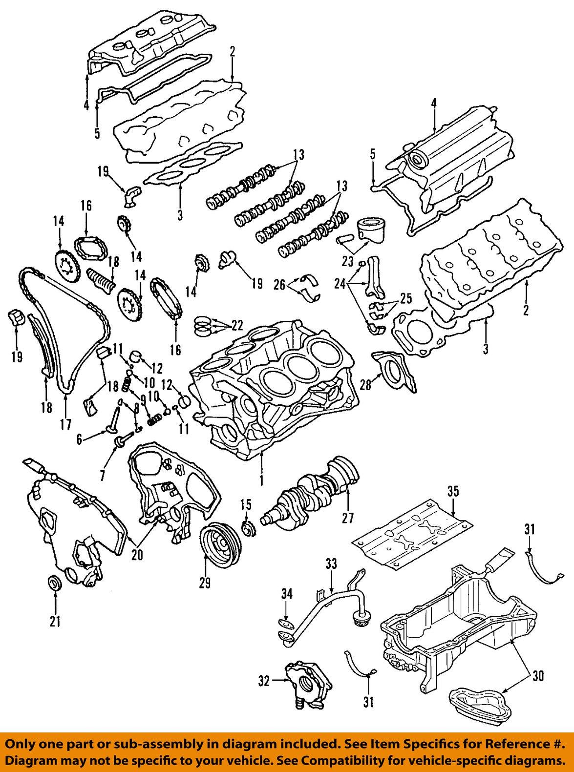 Nissan oem 130707y000 timing damperengine timing chain tensioner nissan oem 130707y000 timing damper engine timing chain vanachro Choice Image