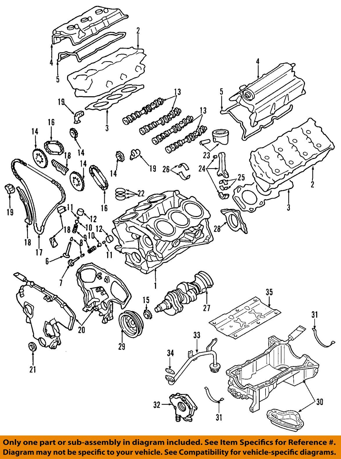 1998 Nissan Quest Engine Diagram Wiring Library 98 Pathfinder 2000 Parts Photos Of Oem Cheap