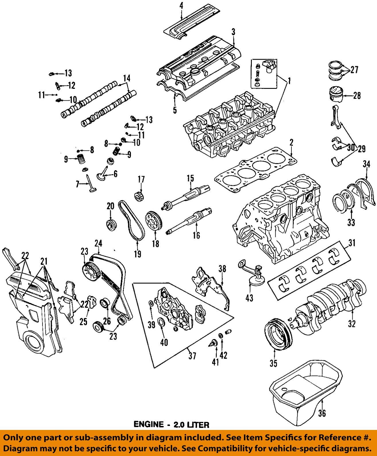 mitsubishi oem 91 98 galant engine crankshaft upper seal upper mitsubishi oem 91 98 galant engine crankshaft upper seal upper seal md741818